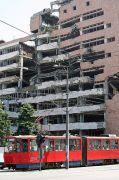 Beograd er fortsatt preget av NATOs bombing.