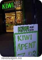 Kiwi eies av Norgesgruppen, en av de fire dagligvaremonopolene.