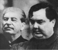 Stalin og Malenkov.