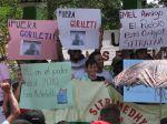 Faglig protest mot generalkuppet i Honduras. Foto: ITF
