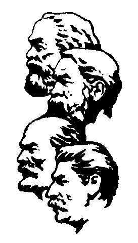 Marx, Engels, Lenin og Stalin