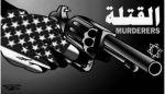 «Mordere». Tegning ved Baha Al-Bukhari (2002).