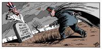 Pinochet - ustraffet. Ill. Carlos Latuff