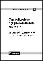 Hefte 5: Folkestyre og proletariatets diktatur